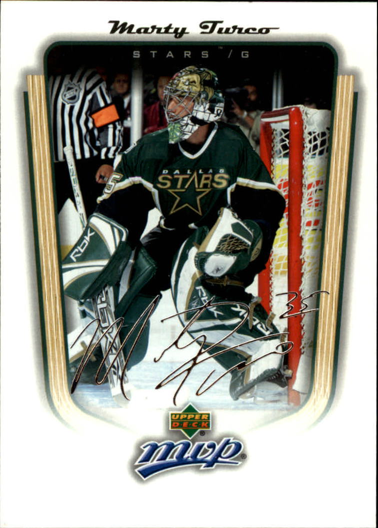 2005-06 Upper Deck MVP #128 Marty Turco
