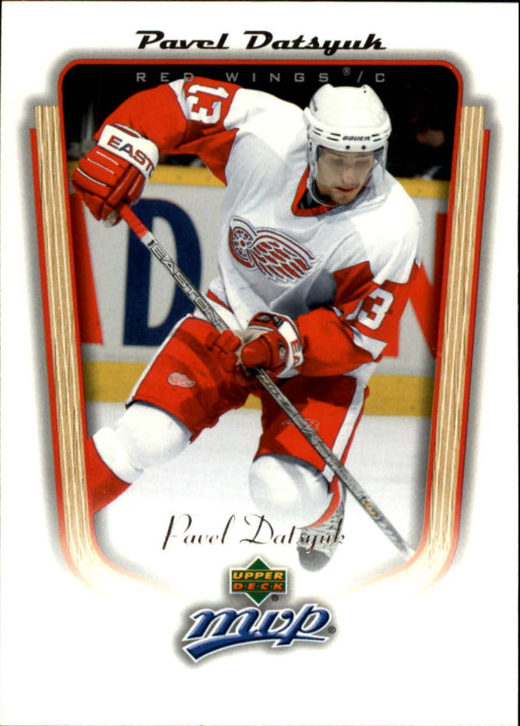 2005-06 Upper Deck MVP #151 Pavel Datsyuk