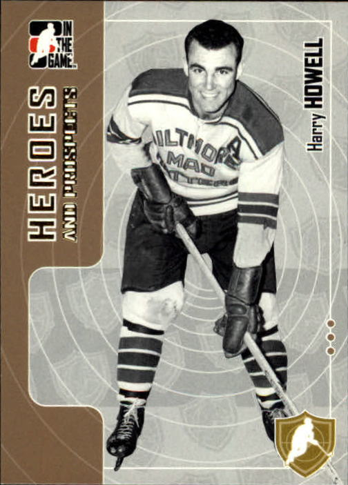 2005-06 ITG Heroes and Prospects #4 Harry Howell