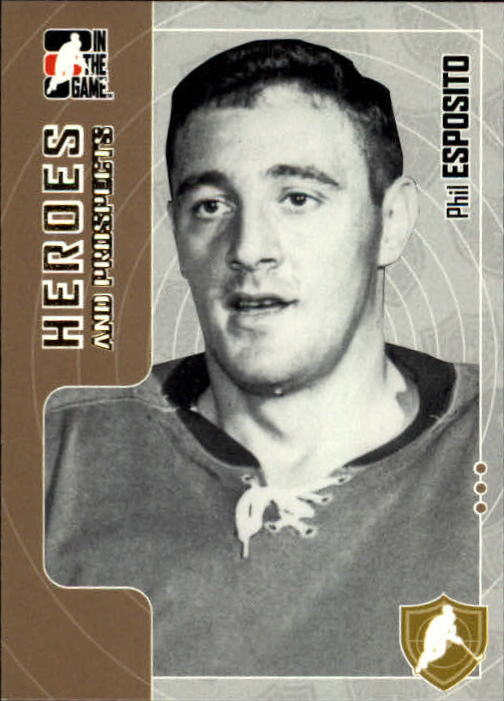 2005-06 ITG Heroes and Prospects #6 Phil Esposito