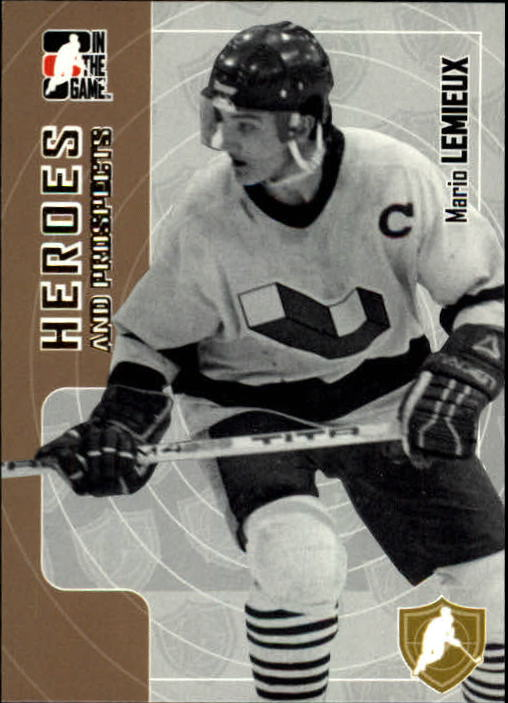 2005-06 ITG Heroes and Prospects #40 Mario Lemieux