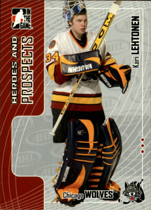 2005-06 ITG Heroes and Prospects #62 Kari Lehtonen