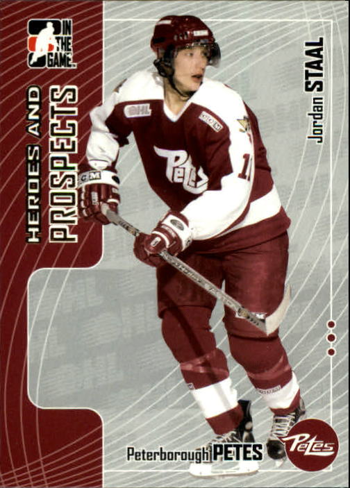 2005-06 ITG Heroes and Prospects #116 Jordan Staal