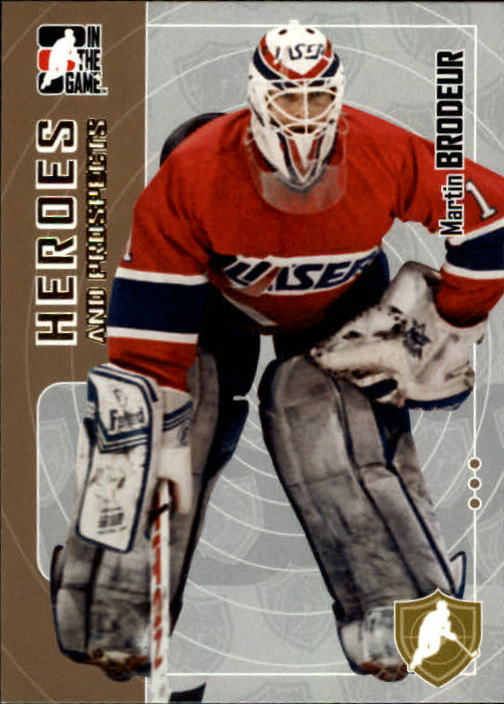 2005-06 ITG Heroes and Prospects #181 Martin Brodeur