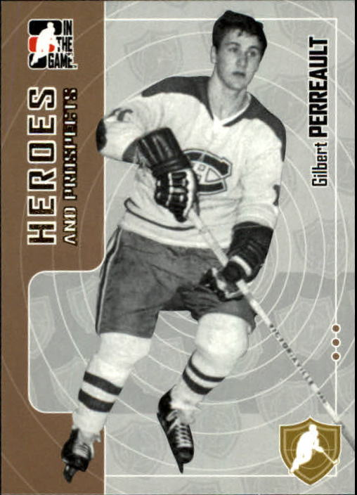 2005-06 ITG Heroes and Prospects #187 Gilbert Perreault front image
