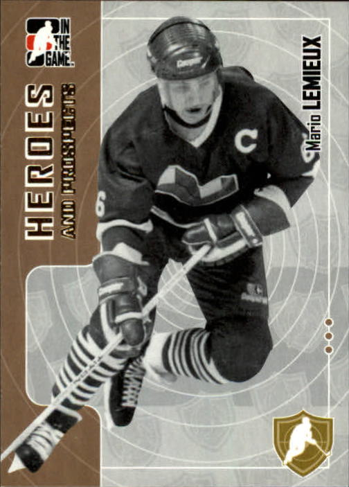 2005-06 ITG Heroes and Prospects #196 Mario Lemieux