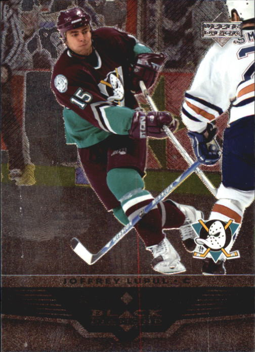 2005-06 Black Diamond #1 Joffrey Lupul