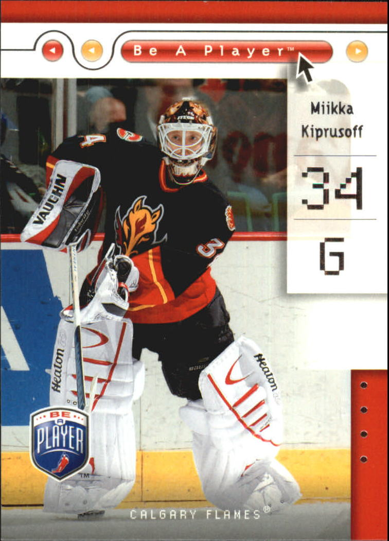 2005-06 Be A Player #13 Miikka Kiprusoff