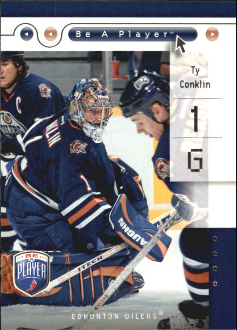 2005-06 Be A Player #37 Ty Conklin