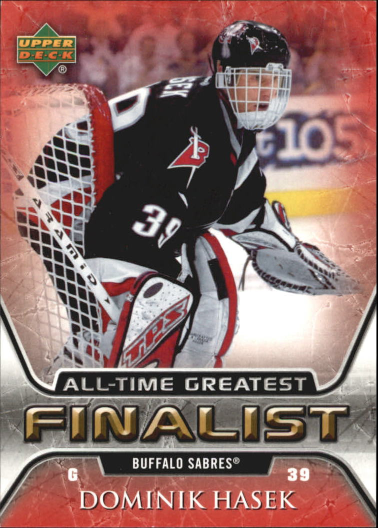 2005-06 Upper Deck All-Time Greatest #7 Dominik Hasek front image