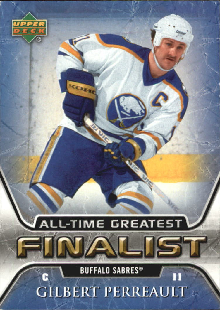 2005-06 Upper Deck All-Time Greatest #8 Gilbert Perreault