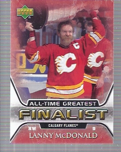 2005-06 Upper Deck All-Time Greatest #10 Lanny McDonald