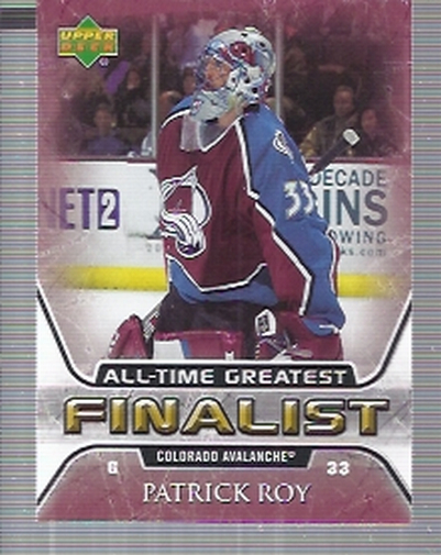 2005-06 Upper Deck All-Time Greatest #16 Patrick Roy