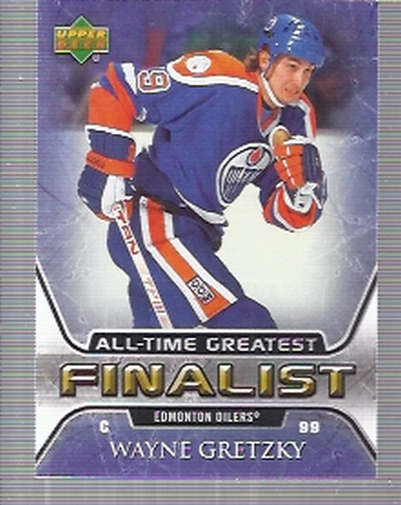 2005-06 Upper Deck All-Time Greatest #23 Wayne Gretzky