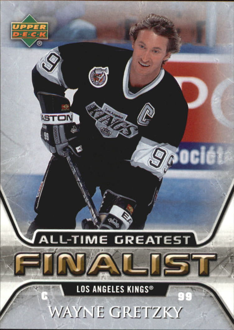 2005-06 Upper Deck All-Time Greatest #27 Wayne Gretzky