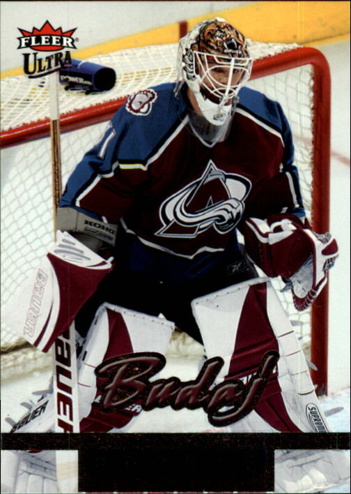 2005-06 Ultra #213 Peter Budaj RC