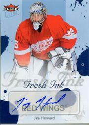 2005-06 Ultra Fresh Ink Blue #FIJI Jarome Iginla