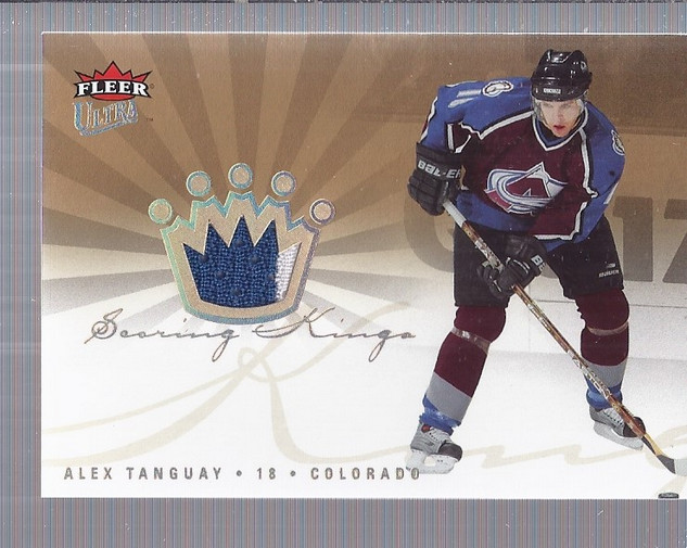 2005-06 Ultra Scoring Kings Jerseys #SKJAT Alex Tanguay