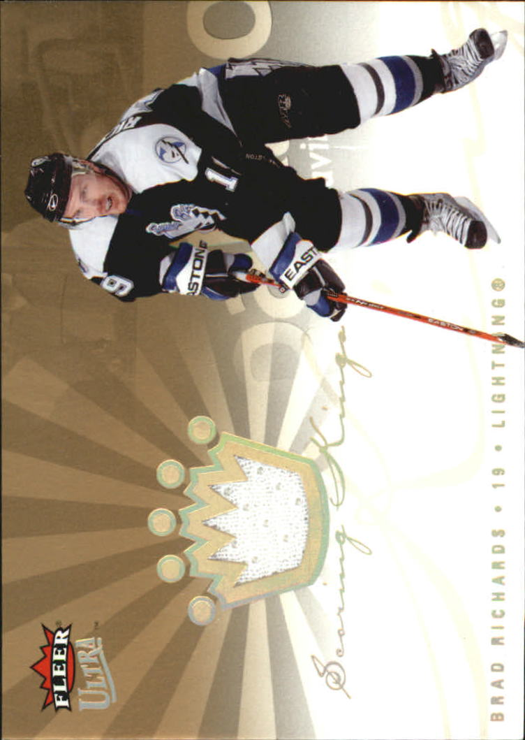 2005-06 Ultra Scoring Kings Jerseys #SKJBR Brad Richards