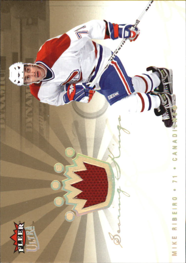 2005-06 Ultra Scoring Kings Jerseys #SKJMR Mike Ribeiro