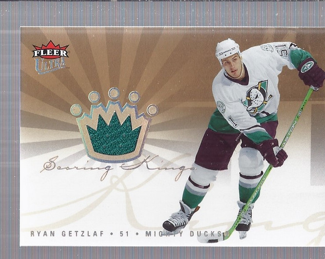 2005-06 Ultra Scoring Kings Jerseys #SKJRG Ryan Getzlaf