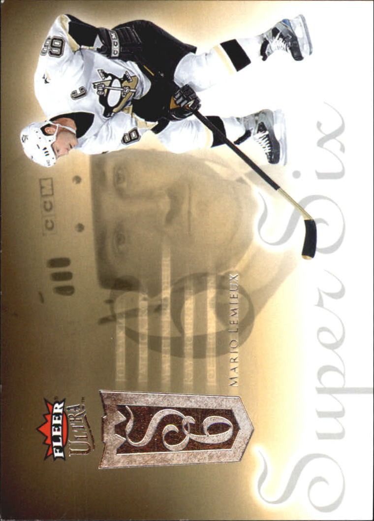 2005-06 Ultra Super Six #SS1 Mario Lemieux