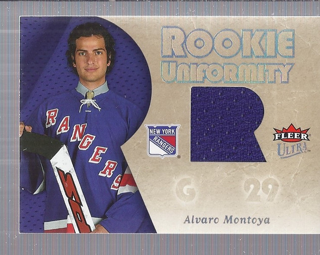 2005-06 Ultra Rookie Uniformity Jerseys #RUMO Al Montoya