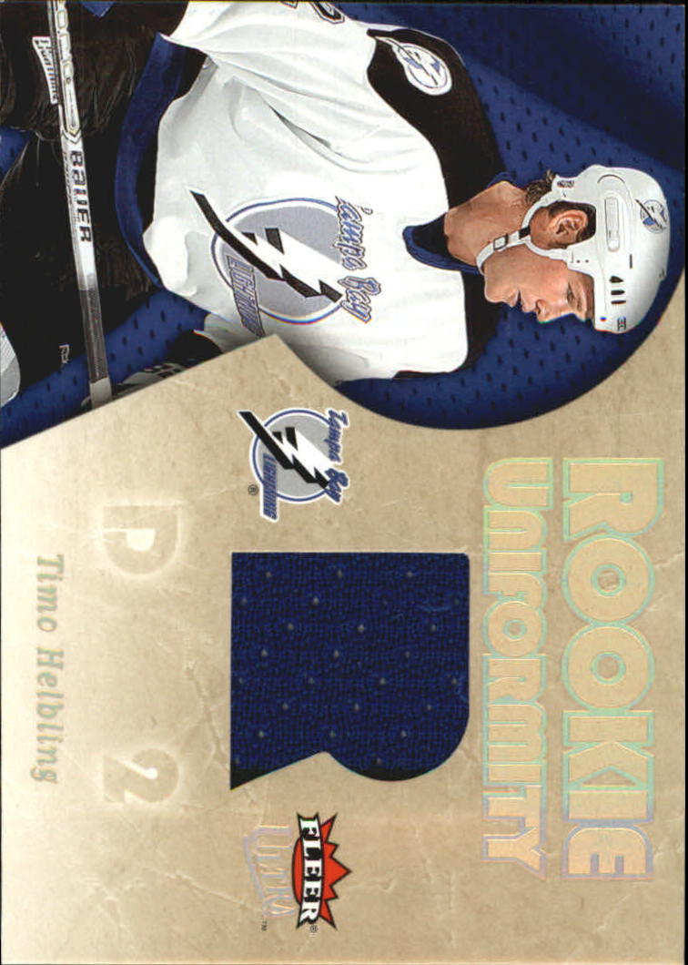 2005-06 Ultra Rookie Uniformity Jerseys #RUTH Timo Helbling