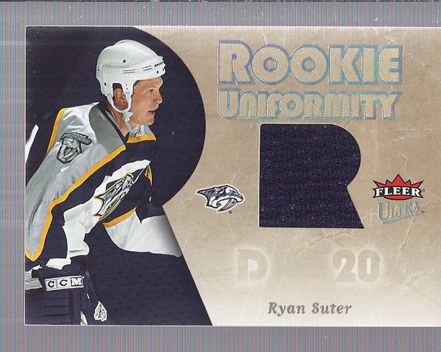 2005-06 Ultra Rookie Uniformity Jerseys #RURS Ryan Suter