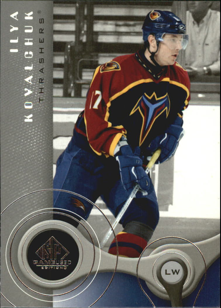 2005-06 SP Game Used #4 Ilya Kovalchuk