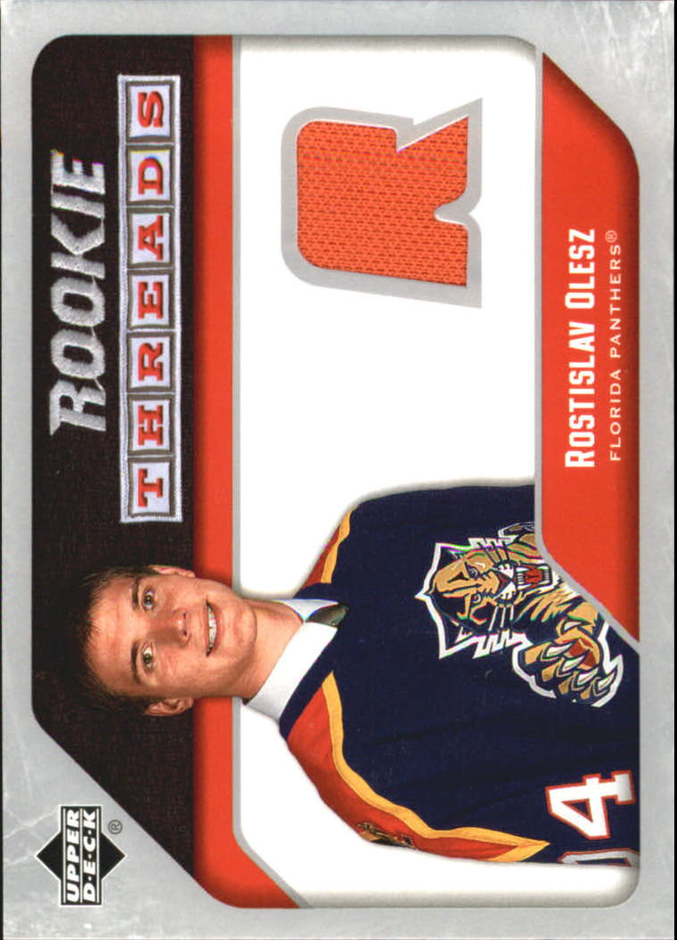 2005-06 Upper Deck Rookie Threads #RTRO Rostislav Olesz front image