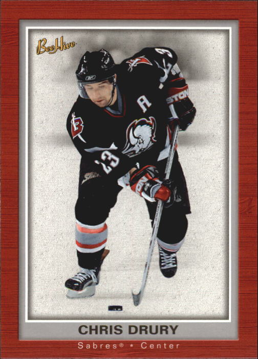 2005-06 Beehive #12 Chris Drury