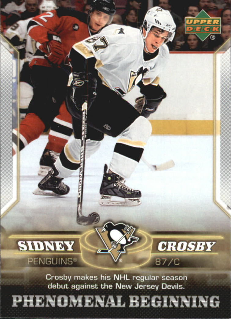 2005-06 Upper Deck Phenomenal Beginnings #2 Sidney Crosby