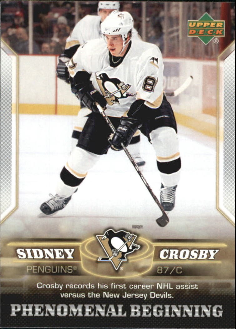 2005-06 UD Phenomenal Beginnings #3 Sidney Crosby front image