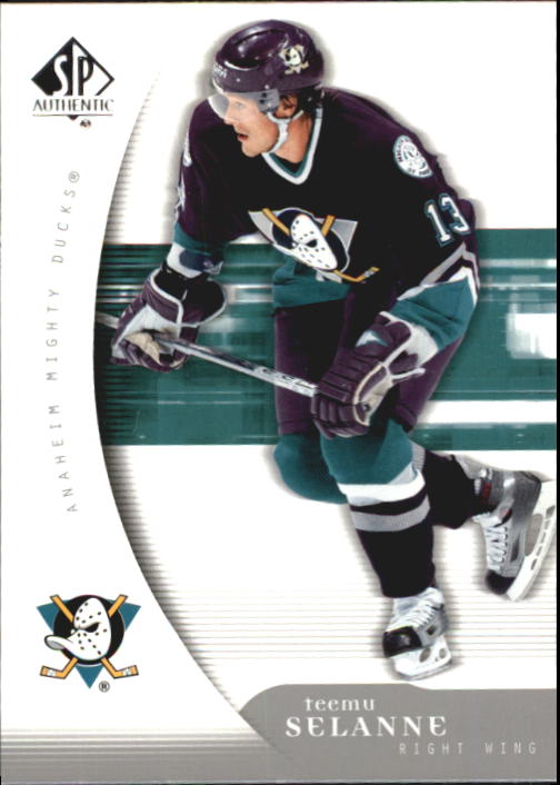 2005-06 SP Authentic #3 Teemu Selanne