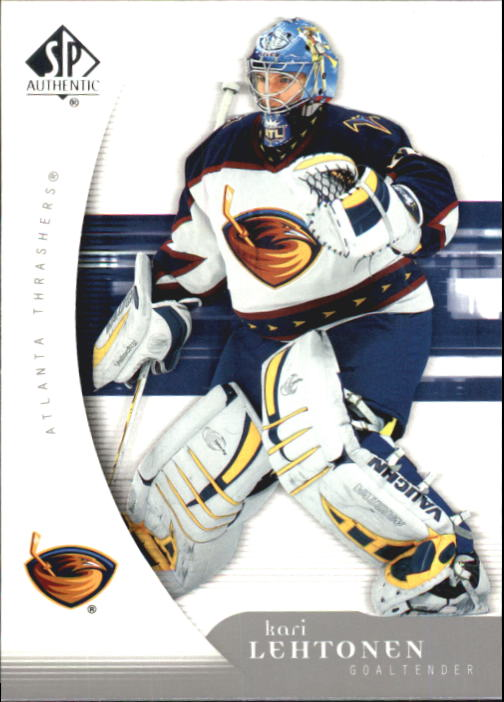 2005-06 SP Authentic #6 Kari Lehtonen