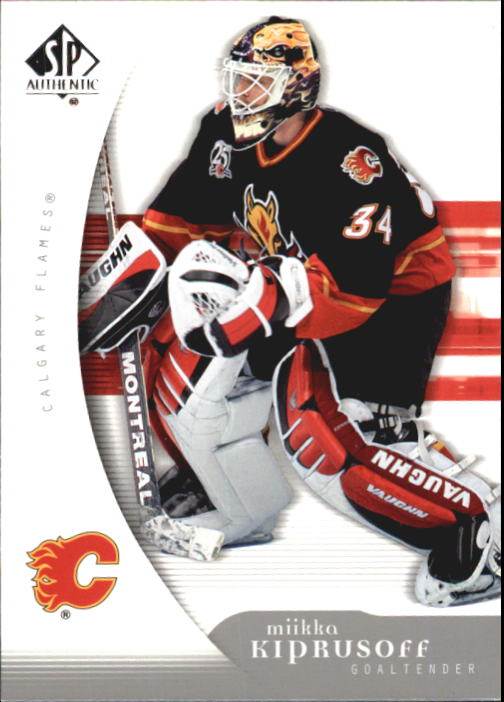2005-06 SP Authentic #17 Miikka Kiprusoff