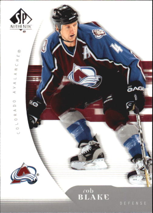 2005-06 SP Authentic #28 Rob Blake