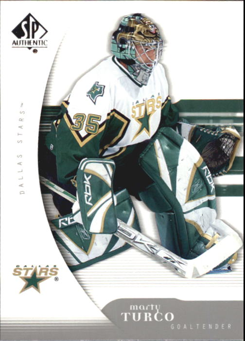 2005-06 SP Authentic #32 Marty Turco