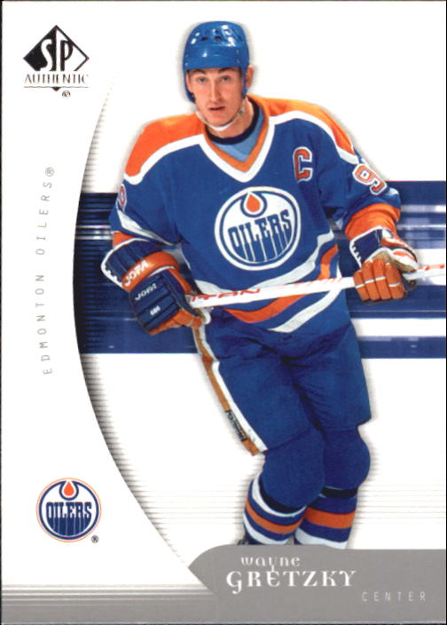 2005-06 SP Authentic #42 Wayne Gretzky front image
