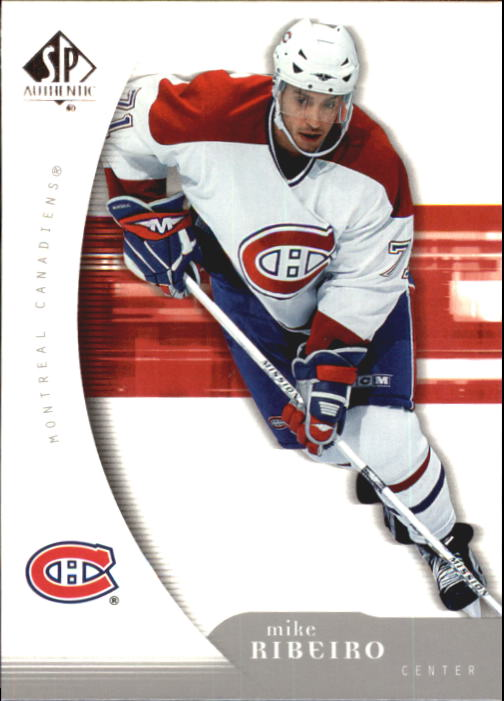 2005-06 SP Authentic #53 Mike Ribeiro