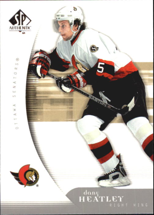 2005-06 SP Authentic #68 Dany Heatley