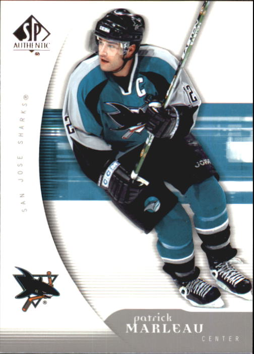 2005-06 SP Authentic #84 Patrick Marleau