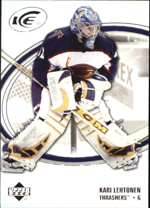 2005-06 Upper Deck Ice #6 Kari Lehtonen