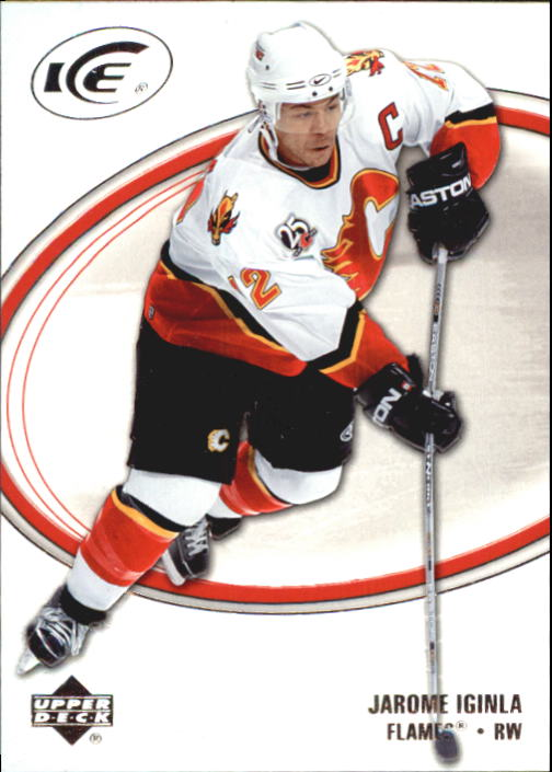 2005-06 Upper Deck Ice #14 Jarome Iginla