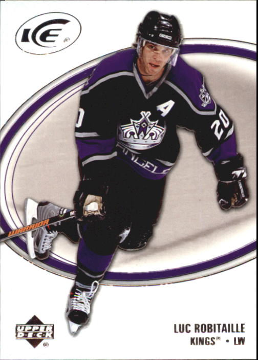 2005-06 Upper Deck Ice #45 Luc Robitaille