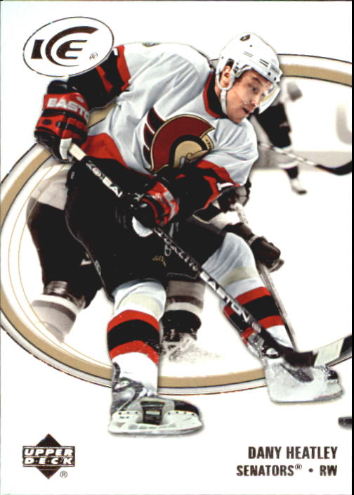 2005-06 Upper Deck Ice #65 Dany Heatley front image