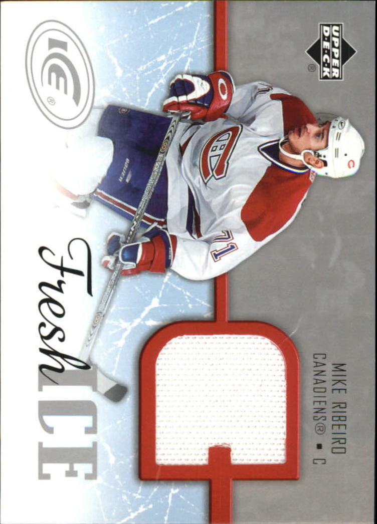 2005-06 Upper Deck Ice Fresh Ice #FIRI Mike Ribeiro