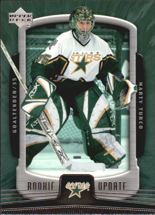 2005-06 Upper Deck Rookie Update #32 Marty Turco front image