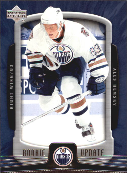 2005-06 Upper Deck Rookie Update #40 Ales Hemsky